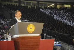 الشعب المصري: خطاب الرئيس مرسي اتسم بالشفافية والواقعية