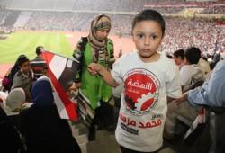 الجماهير في احتفالات أكتوبر: إنجازات مرسي عجزت عنها دول كبرى