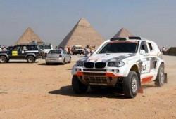 وزير السياحة يطلق إشارة البدء لسباق رالي الفراعنة الثلاثين