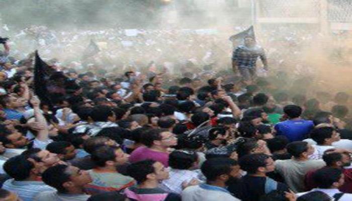 مظاهرة أمام السفارة الأمريكية بالقاهرة