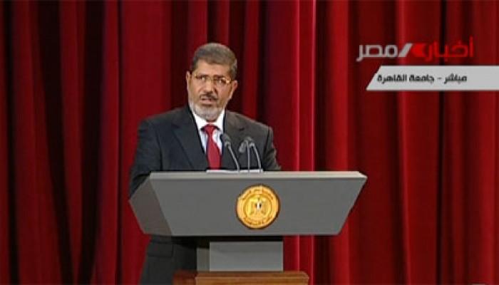 فنانون ومبدعون: خطاب الرئيس مرسي يؤكد الدولة المدنية