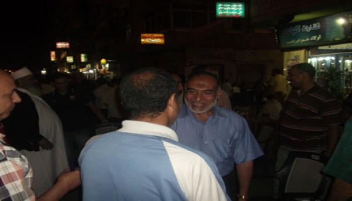 """وكيل """"صناعة وطاقة الشعب"""" يستمع إلى شكاوى سائقي الإسكندرية"""