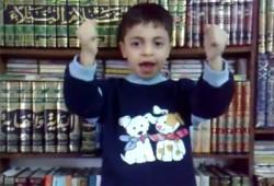 """رسالة من طفل للشعب المصري: """"كلنا إيد بإيد هننتخب المرسي أكيد"""""""