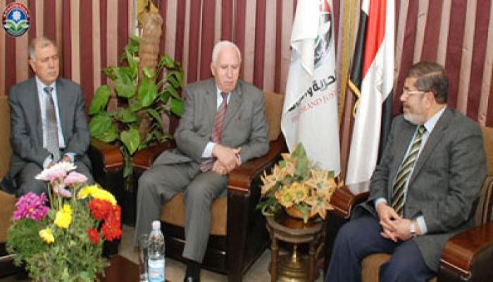 د. مرسي: فلسطين في القلب والمصالحة مطلب وطني