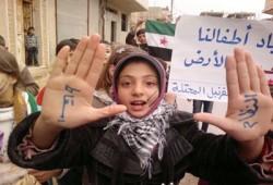 الانتفاضة السورية وشلال الدم