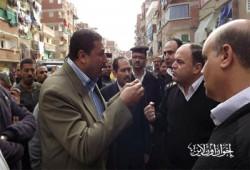 الأمن يلاحق البلطجية مهاجمي السوق الخيري بالإسكندرية