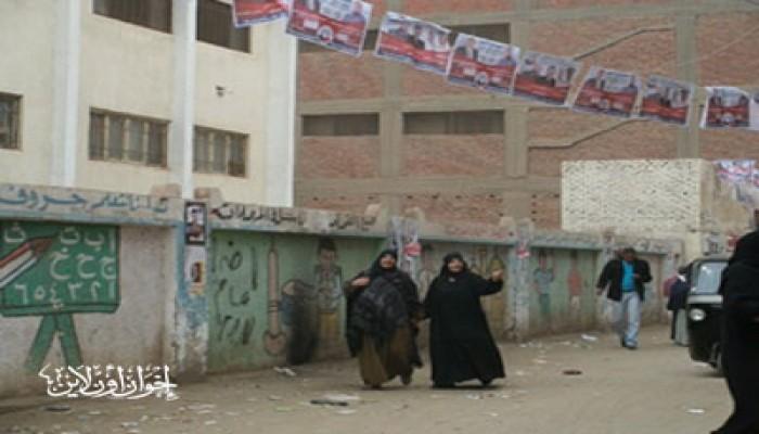 غياب الناخبين يسيطر على انتخابات الجيزة
