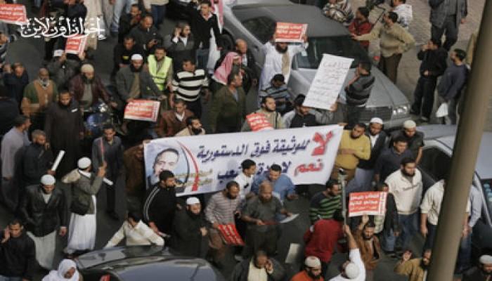 """3 مسيرات بوسط القاهرة للتنديد بتباطؤ """"العسكري"""""""