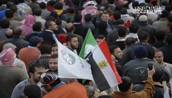 """""""التحرير"""" يمتلئ لـ""""حماية الديمقراطية"""""""