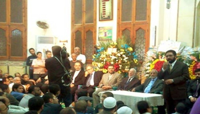 المرشد العام يشارك في حفل زواج نجل د. مرسي