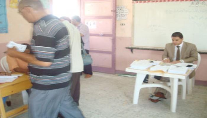 """إقبال على قوائم """"معلمون بلا نقابة"""" في انتخابات الإسكندرية"""