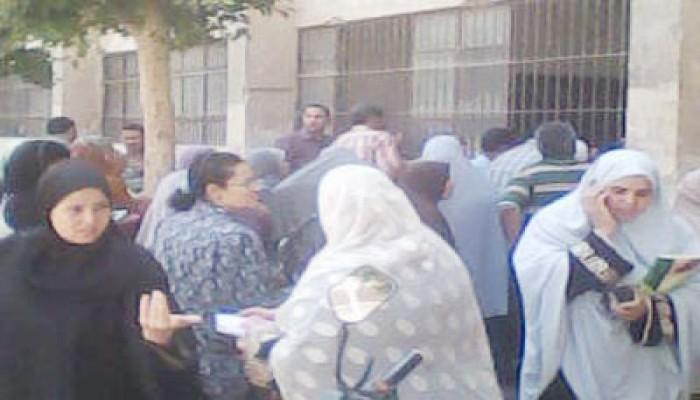 إغلاق لجان المعلمين بشبين القناطر واعتداءات بقها في القليوبية