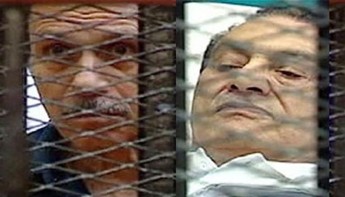 """الكاميرا """"غياب"""" في محاكمة مبارك والعادلي اليوم"""