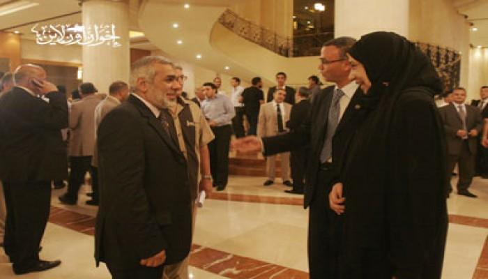 نهى الزيني: إفطار الإخوان احتفال بيوم العدل