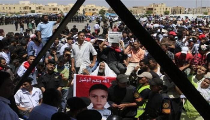 محامو الشهداء يحتجون على منعهم من حضور محاكمة المخلوع