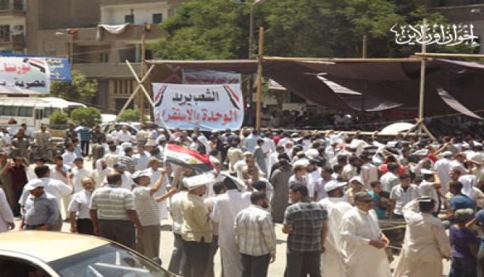 أسيوط.. وقفة للقوى الوطنية تضامنًا مع جمعة الوحدة