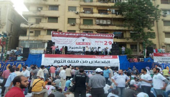 """راشد الغنوشي من """"التحرير"""": الشعوب قادرة على إنجاز التغيير"""