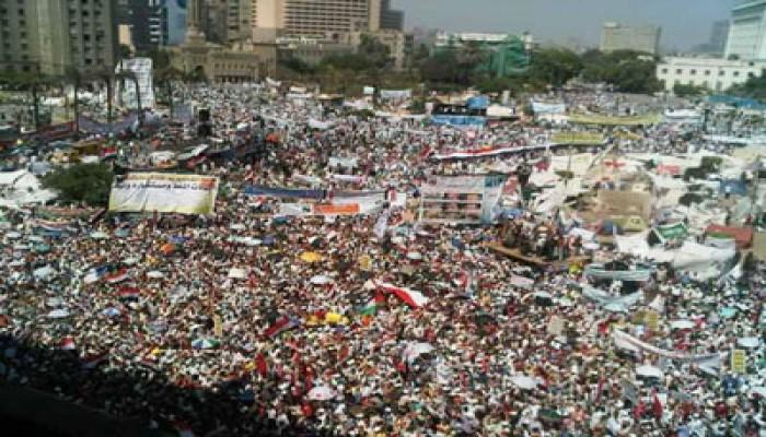 """""""التحرير"""" يمتلئ صباح جمعة """"وحدة الصف والإرادة الشعبية"""""""