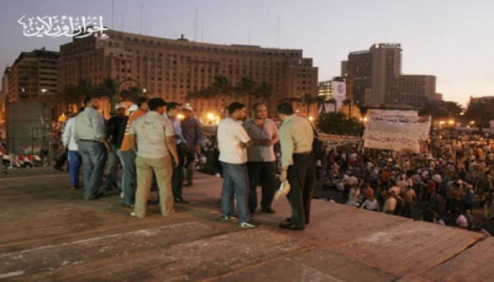 """""""التحرير"""".. """"خلية نحل"""" استعدادًا لفعاليات الجمعة"""