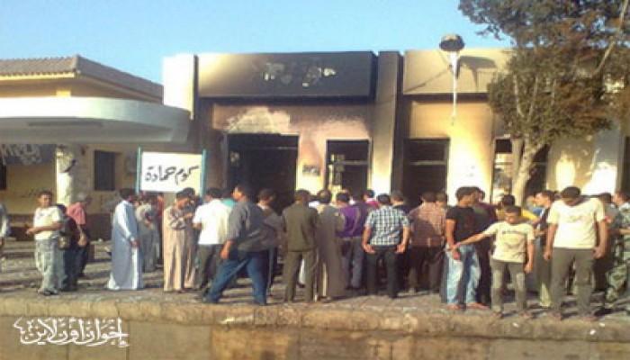 إخوان البحيرة يعيدون ترميم محطة قطار كوم حمادة