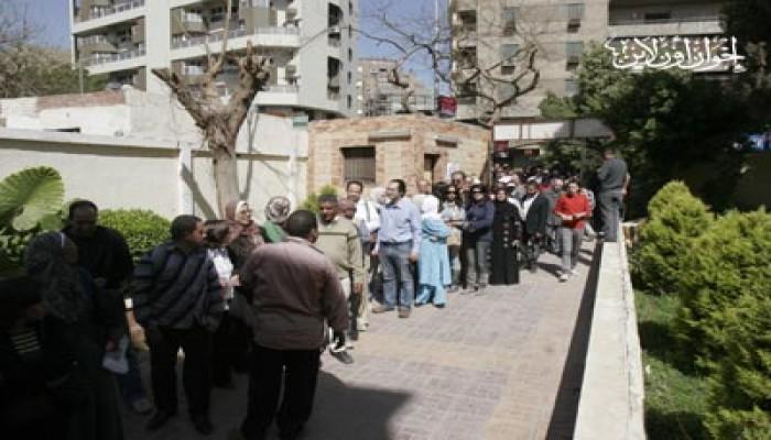 لجنة الاستفتاء: مد الوقت في حال زحام المواطنين