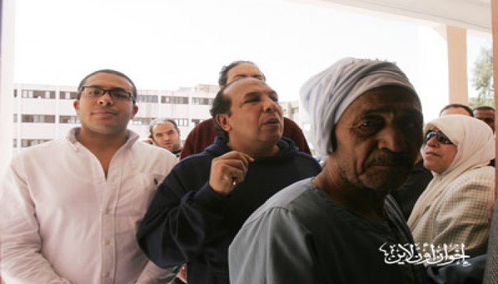 توافد كثيف بمنطقة إمبابة للمشاركة في الاستفتاء