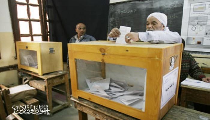 إقبال كبير على الاستفتاء في حلوان منذ الصباح