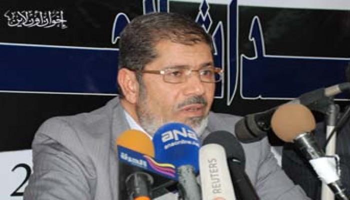 د. محمد مرسي: الاستفتاء أول إنجازات الثورة