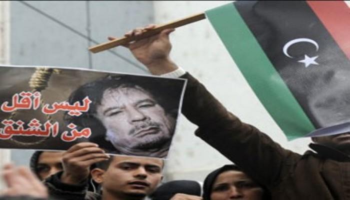 """تصاعد الانشقاقات في نظام """"القذافي"""" والقبائل تنحاز للثوار"""
