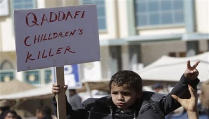علماء الأمة يدعون جيش ليبيا لوقف جنون القذافي