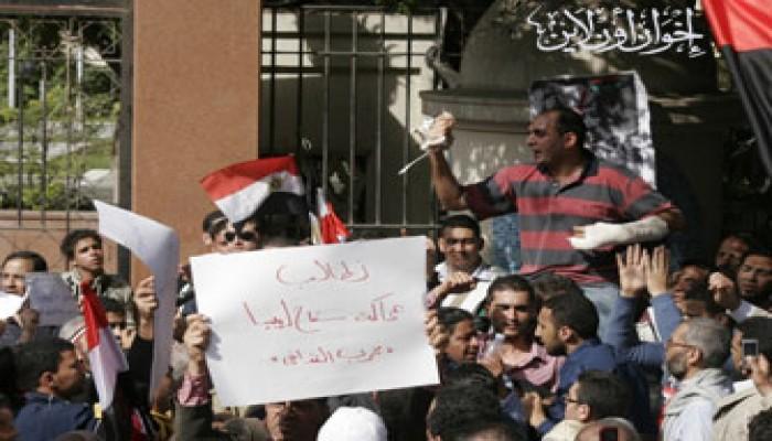 بلاغ للتحفظ على أموال القذافي في مصر