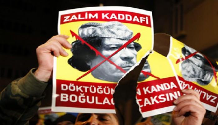 """علماء ليبيا: """"القذافي"""" يعيش آخر لحظاته"""