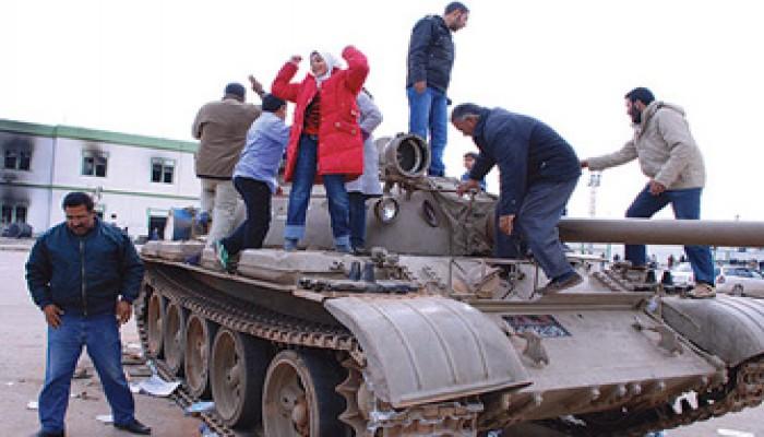 محامو مصر: القذافي مجرم حرب ولن يفلت من المحاكمة