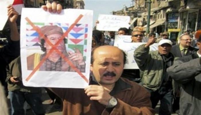 قافلة مصرية طبية لدعم ثوار ليبيا