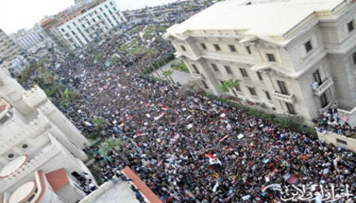مليونا سكندري يحتفون برحيل مبارك