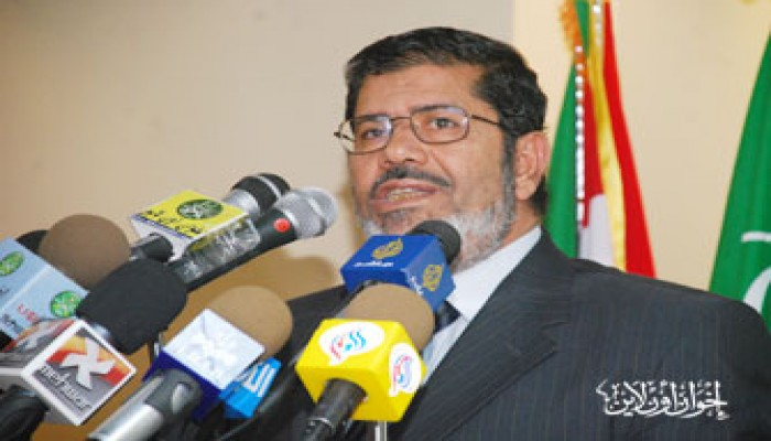 د. محمد مرسي: مبارك رحل أو على وشك الرحيل