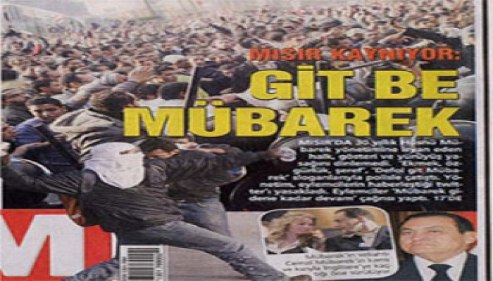 مظاهرات الغضب بمصر تتصدر الصحف التركية