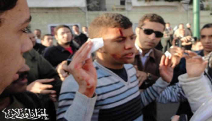 """""""القومي لحقوق الإنسان"""" يتجاهل اعتداءات الأمن!"""
