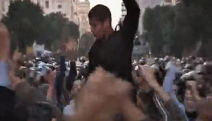 """بالفيديو.. الشرطة المصرية انضمت لاحتجاجات """"يوم الغضب"""""""