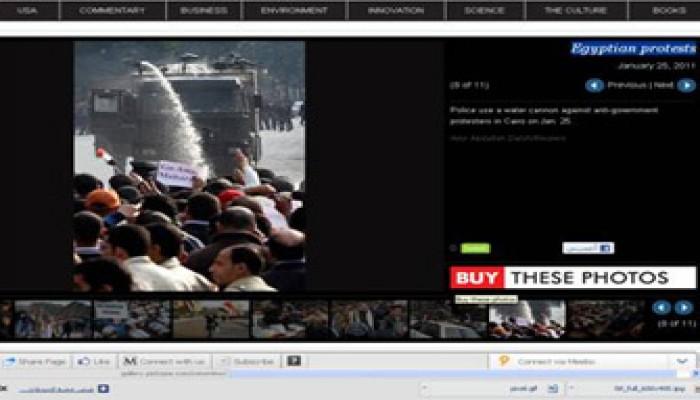 مصريو الخارج يدعمون احتجاجات الغضب