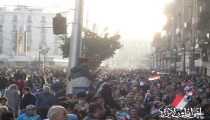 عنف أمني خطير بالإسكندرية.. والمظاهرات تزداد