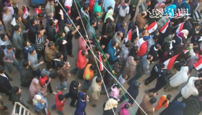 انطلاق مسيرات الإسكندرية والأمن يضربها بعنف