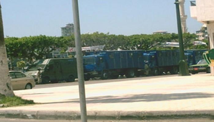 دمياط.. وسط المدينة تحت الحصار الأمني