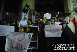 وقفة احتجاجية للإفراج عن الزميل بدر محمد بدر