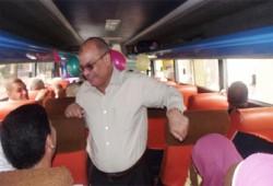 """نائبا دائرة """"مينا البصل"""" يودّعان الحجاج"""