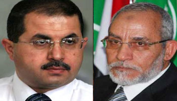 المرشد العام يعزي د. باسم نعيم في وفاة زوجته