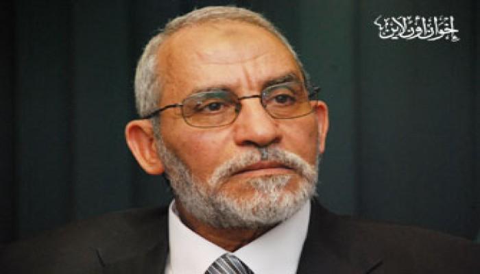 المرشد العام ينعى والد وحماة النائبَيْن عبد الغني وحامد