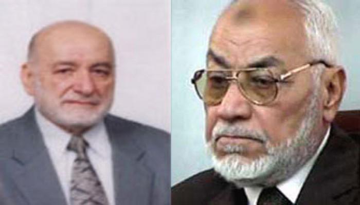 عزاء الأستاذ عاكف في وفاة د. عدنان سعد الدين