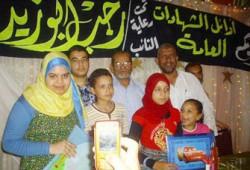 أبو زيد يكرم الطلاب المتفوقين بدائرته