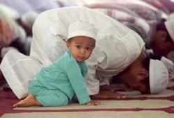 الأطفال والمساجد